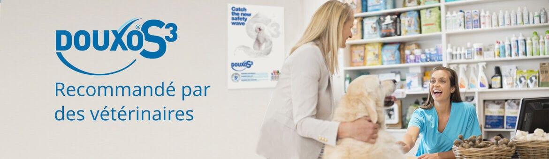 Douxo S3 est recommandé par des vétérinaires