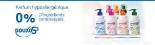Découvrez les nouveaux parfums hypoallergéniques Douxo S3