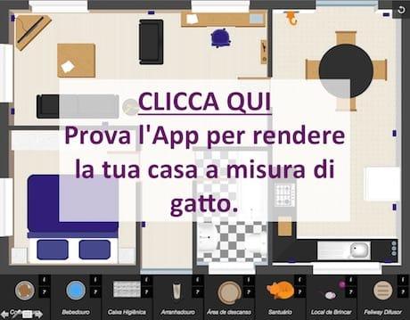 Casa a misura di gatto for Rendi la tua casa online