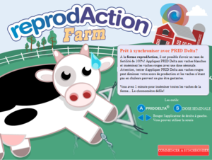 La ferme reprodAction - Le jeu